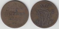 4 Heller 1820 Altdeutschland - Hessen-Kassel Hessen-Kassel, 4 Heller, W... 8,00 EUR  zzgl. 5,00 EUR Versand