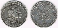 Taler 1861 Preußen Silbergedenkmünze, Wilhelm I., Krönungstaler, siehe ... 22,00 EUR  zzgl. 5,00 EUR Versand