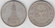 5 Reichsmark 1935 A Drittes Reich Drittes Reich, 5 Reichsmark Garnisons... 9,90 EUR  zzgl. 5,00 EUR Versand