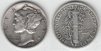 10 Cents (Dime) 1924 USA USA, Kursmünze 1 Dime, 1924, siehe Scan! sehr ... 7,50 EUR  zzgl. 5,00 EUR Versand