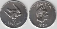 10 Kwacha 1979 Sambia Sambia 1979, 10 Kwacha, Taitafalke, Erhaltung sie... 29,00 EUR  zzgl. 5,00 EUR Versand