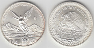 1 Unze 1999 Mexiko Mexico 1999, 1 Unze Silber Libertad - Siegesgöttin, ... 65,00 EUR  zzgl. 5,00 EUR Versand