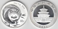 10 Yuan 2003 China China, 1 Unze Silber, Panda 2003, Erhaltung siehe Sc... 119,00 EUR  zzgl. 5,00 EUR Versand