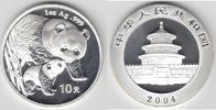 10 Yuan 2004 China China, 1 Unze Silber, Panda 2004, Erhaltung siehe Sc... 89,00 EUR  zzgl. 5,00 EUR Versand