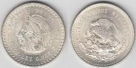 5 Pesos 1948 Mexico Mexiko 1948, 5 Pesos, 'Kopf mit Kopfschmuck nach li... 26,00 EUR  zzgl. 5,00 EUR Versand
