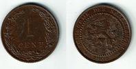 1 Cent 1906 Niederlande Niederlade 1906, 1 Cent, Wilhelmina I., Erhaltu... 4,50 EUR  zzgl. 5,00 EUR Versand