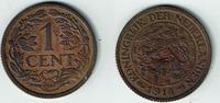 1 Cent 1914 Niederlande Niederlade 1914, 1 Cent, Wilhelmina I., Erhaltu... 3,50 EUR  zzgl. 5,00 EUR Versand