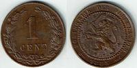 1 Cent 1883 Niederlande Niederlande, 1 Cent, Kursmünze, Willhelm III., ... 12,00 EUR  zzgl. 5,00 EUR Versand