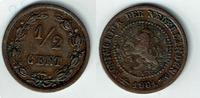 1/2 Cent 1901 Niederlande Niederlade 1901, 1/2 Cent, Wilhelmina I., Erh... 5,00 EUR  zzgl. 5,00 EUR Versand