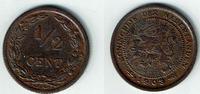 1/2 Cent 1903 Niederlande Niederlade 1903, 1/2 Cent, Wilhelmina I., Erh... 4,00 EUR  zzgl. 5,00 EUR Versand