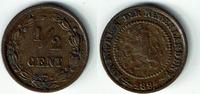 1/2 Cent 1894 Niederlande Niederlade 1894, 1/2 Cent, Wilhelmina I., Erh... 4,50 EUR  zzgl. 5,00 EUR Versand