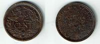 1/2 Cent 1917 Niederlande Niederlade 1917, 1/2 Cent, Wilhelmina I., Erh... 5,00 EUR  zzgl. 5,00 EUR Versand