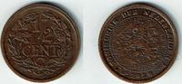 1/2 Cent 1928 Niederlande Niederlade 1928, 1/2 Cent, Wilhelmina I., Erh... 5,00 EUR  zzgl. 5,00 EUR Versand