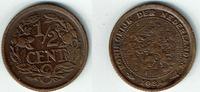 1/2 Cent 1934 Niederlande Niederlade 1934, 1/2 Cent, Wilhelmina I., Erh... 3,50 EUR  zzgl. 5,00 EUR Versand