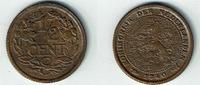 1/2 Cent 1940 Niederlande Niederlade 1940, 1/2 Cent, Wilhelmina I., Erh... 3,50 EUR  zzgl. 5,00 EUR Versand