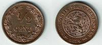 1/2 Cent 1884 Niederlande Niederlande, 1/2 Cent, Kursmünze, Willhelm II... 22,00 EUR  zzgl. 5,00 EUR Versand