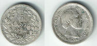 5 Cent 1855 Niederlande Niederlade 1855, 5 Cent, Silber Kursmünze, Erha... 10,00 EUR  zzgl. 5,00 EUR Versand