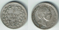 5 Cent 1850 Niederlande Niederlade 1850, 5 Cent, Silber Kursmünze, Erha... 4,00 EUR  zzgl. 5,00 EUR Versand