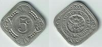5 Cent 1934 Niederlande Niederlade 1934, 5 Cent, Wilhelmina, Erhaltung ... 9,00 EUR  zzgl. 5,00 EUR Versand