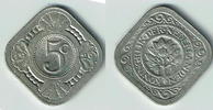 5 Cent 1929 Niederlande Niederlade 1929, 5 Cent, Wilhelmina, Erhaltung ... 3,00 EUR  zzgl. 5,00 EUR Versand