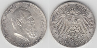 5 Mark 1911 D Bayern Kaiserreich, Bayern 5 Mark 1911 D, Prinzregent Lui... 89,00 EUR  zzgl. 5,00 EUR Versand