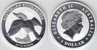 1 Dollar 2011 Australien Australien 2011, 1 Unze Silber, Kookaburra, Er... 30,00 EUR  zzgl. 5,00 EUR Versand