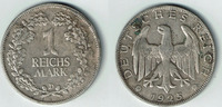 1 Mark 1925 D Weimarer Republik Weimarer Republik, Kursmünze 1 Mark 192... 10,00 EUR  zzgl. 5,00 EUR Versand