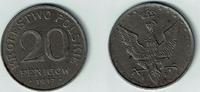 20 Fenigow 1917 Geplantes Königreich Polen Kursmünze 20 Fenigow, Eisen,... 15,00 EUR  zzgl. 5,00 EUR Versand