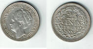 25 Cent 1941 Niederlande Niederlade 1941, 25 Cent, Wilhelmina, Erhaltun... 3,50 EUR  zzgl. 5,00 EUR Versand