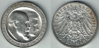 3 Mark 1911 Württemberg Kaiserreich, Württemberg 1911, Wilhelm II., vor... 32,00 EUR  zzgl. 5,00 EUR Versand