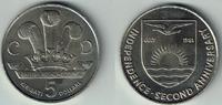 5 Dollars 1981 Kiribati Kiribati, Gedenkmünze 'Royal Wedding Charles + ... 5,00 EUR  zzgl. 5,00 EUR Versand