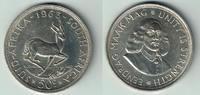 50 Cents 1963 Südafrika Silbermünze 50 Cents, 'Springbock - Jan van Rie... 15,00 EUR  zzgl. 5,00 EUR Versand