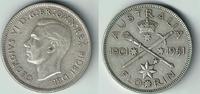 Florin 1951 Australien Australien, Kursmünze 1 Florin Silber, Georg VI.... 8,00 EUR  zzgl. 5,00 EUR Versand