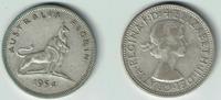Florin 1954 Australien Australien, Kursmünze 1 Florin Silber, Elisabeth... 7,50 EUR  zzgl. 5,00 EUR Versand