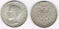 3 Mark 1910 D Bayern Kaiserreich, Bayern 3 Mark 1910 D, König Otto, seh... 15,00 EUR  zzgl. 5,00 EUR Versand