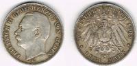 3 Mark 1908 G Baden Kaiserreich, Baden, Friedrich II., 3 Mark 1908 G, E... 18,50 EUR  zzgl. 5,00 EUR Versand