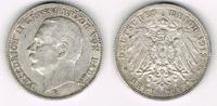 3 Mark 1912 G Baden Kaiserreich, Baden, Friedrich II., 3 Mark 1912 G, E... 17,00 EUR  zzgl. 5,00 EUR Versand