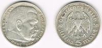 5 Reichsmark 1936 J Drittes Reich Drittes Reich, 5 Reichsmark 1936 J, H... 9,90 EUR  zzgl. 5,00 EUR Versand