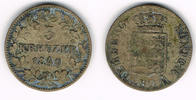 3 Kreuzer 1840 Württemberg Königreich Württemberg, 3 Kreuzer 1840, Wilh... 14,00 EUR  zzgl. 5,00 EUR Versand