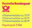 Bund 1 Markenheftchen Bund, MH-Nr. 21 b oZ,  <i>Burgen und Schlsser</i>