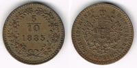 1/2 Kreuzer 1885 Haus Habsburg - Österreich Franz Joseph I., 5/10 Kreuz... 7,50 EUR  zzgl. 5,00 EUR Versand