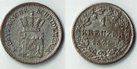 1 Kreuzer 1871 Bayern Bayern, König Ludwig II., Kursmünze 1 Kreuzer, si... 8,00 EUR  zzgl. 5,00 EUR Versand