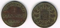 1 Pfennig 1859 Bayern Bayern, König Maximilian II., Kursmünze 1 Pfennig... 5,00 EUR  zzgl. 5,00 EUR Versand
