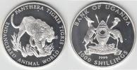 1000 Shilling 1999 Uganda Silbergedenkmünze Bedrohte Tierwelt mit Motiv... 27,50 EUR  zzgl. 5,00 EUR Versand