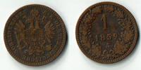 1 Kreuzer 1859 Haus Habsburg - Österreich Franz Joseph I., 1 Kreuzer 18... 4,50 EUR  zzgl. 5,00 EUR Versand