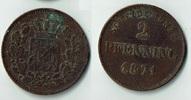 2 Pfennig 1871 Bayern Bayern, König Ludwig II., Kursmünze 2 Pfennig (Sc... 3,00 EUR  zzgl. 5,00 EUR Versand