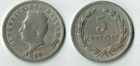 5 Centavos 1919 El Salvador El Salvador, 5 Centavos 1919, Erhaltung sie... 3,00 EUR  zzgl. 5,00 EUR Versand