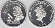 20 Dollars 1993 Tuvalu Tuvalu 'Weltraum/Raumfahrt - Isaac Newton m. Tel... 35,00 EUR  zzgl. 5,00 EUR Versand