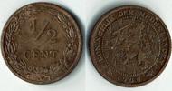 1/2 Cent 1906 Niederlande Niederlade 1906, 1/2 Cent, Erhaltung siehe Sc... 3,00 EUR  zzgl. 5,00 EUR Versand