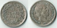 5 Cent 1869 Niederlande Niederlade 1869, 5 Cent, Silber Kursmünze, Erha... 8,00 EUR  zzgl. 5,00 EUR Versand